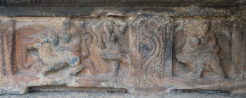 3 Siddhas one with Elephant